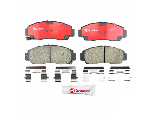 P28034N Brembo Brake Pad Set; Front