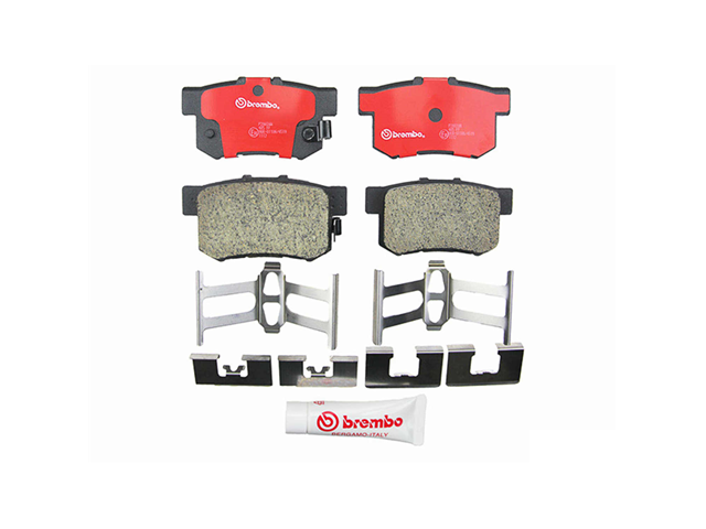 P28039N Brembo Brake Pad Set; Rear