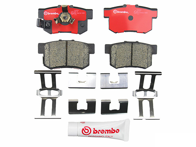 P28051N Brembo Brake Pad Set; Rear