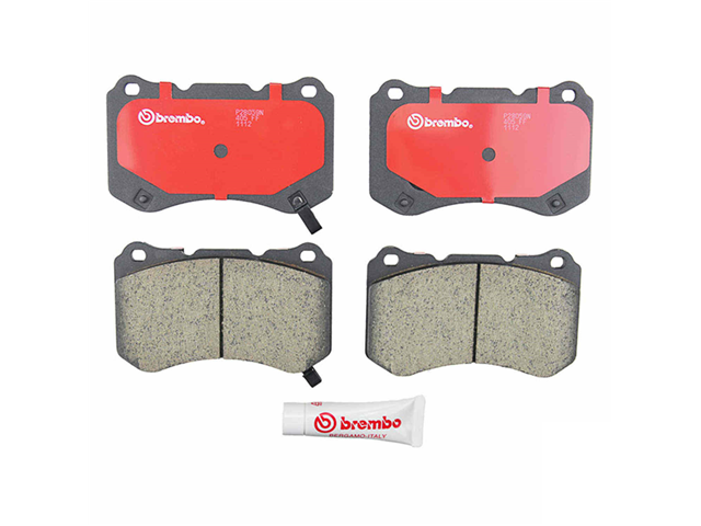 P28059N Brembo Brake Pad Set; Front