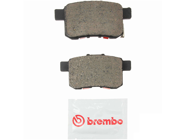 P28072N Brembo Brake Pad Set; Rear