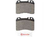 P50010N Brembo Brake Pad Set; Rear