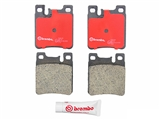 P50017N Brembo Brake Pad Set; Rear