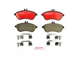 P50067N Brembo Brake Pad Set; Front