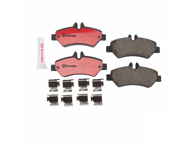 P50084N Brembo Brake Pad Set; Rear