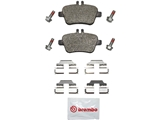 P50091N Brembo Brake Pad Set; Rear