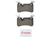 P50113N Brembo Brake Pad Set; Rear
