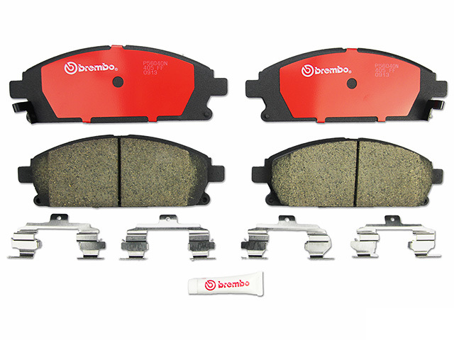 P56040N Brembo Brake Pad Set; Front