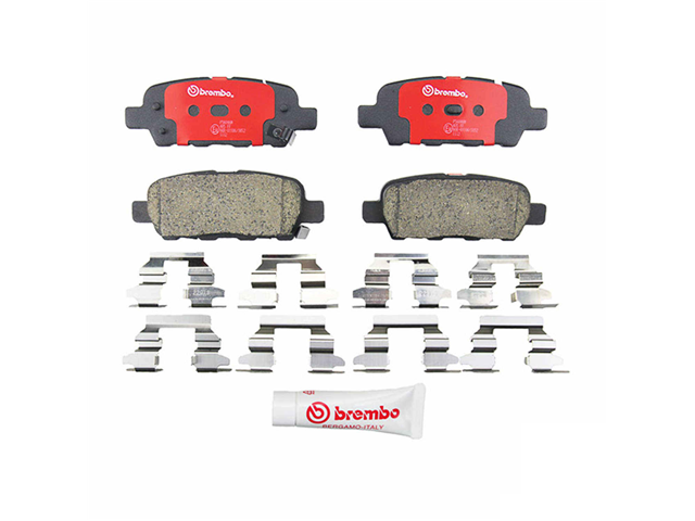P56046N Brembo Brake Pad Set; Rear