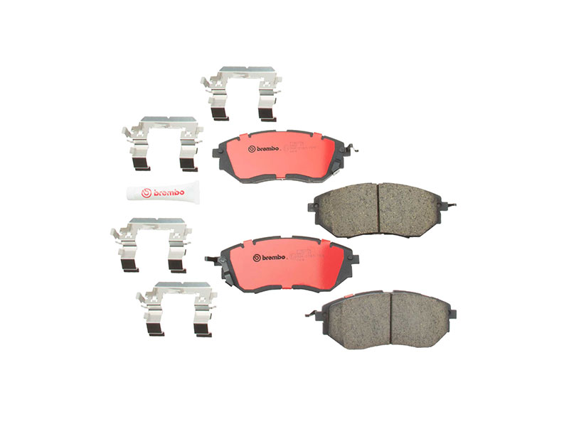 P78017N Brembo Brake Pad Set; Front