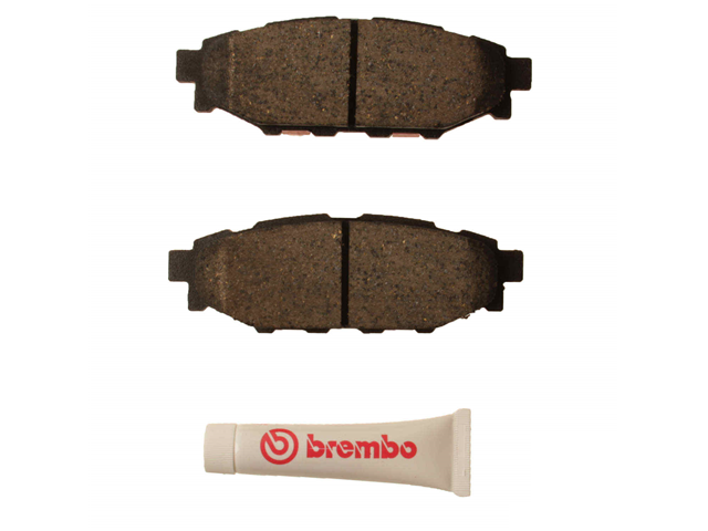 P78020N Brembo Brake Pad Set; Rear