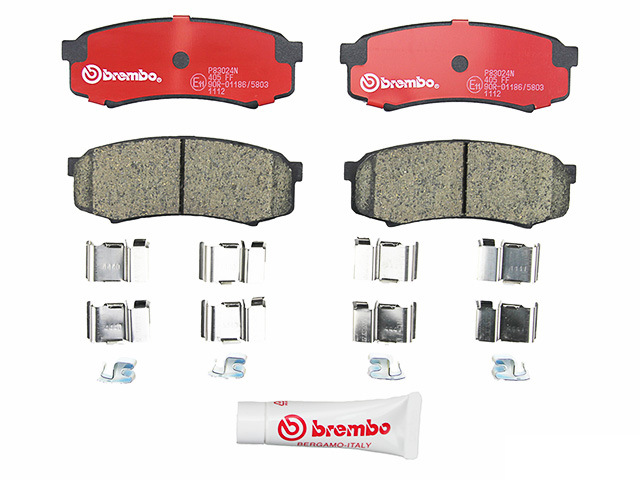 P83024N Brembo Brake Pad Set; Rear