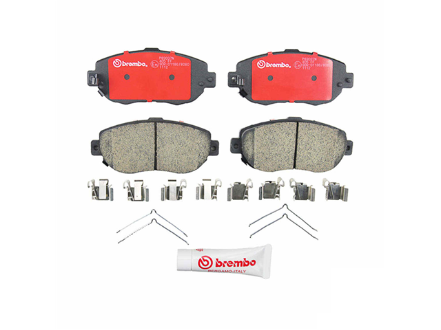 P83037N Brembo Brake Pad Set; Front