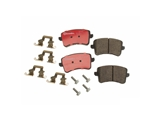 P85099N Brembo Brake Pad Set; Rear