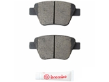 P85114N Brembo Brake Pad Set; Rear