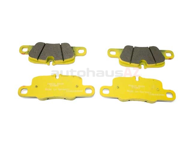 995541983 Pagid Racing Brake Pad Set