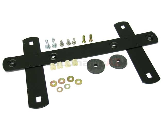 License Plate Bracket Kit Genuine For Porsche 91170195300