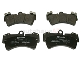 95535193916 Genuine Porsche Brake Pad Set