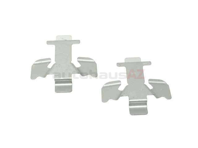 PO-95535195910 Genuine Porsche Disc Brake Hardware Kit