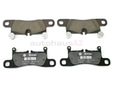 PO-95835293981 Genuine Porsche Brake Pad Set