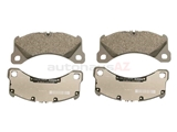 PO-95B698151G Genuine Porsche Brake Pad Set