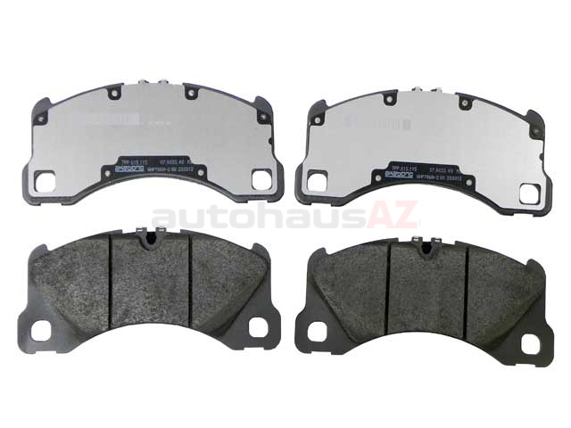 971698151E Genuine Porsche Brake Pad Set; Front