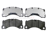 PO-971698151E Genuine Porsche Brake Pad Set