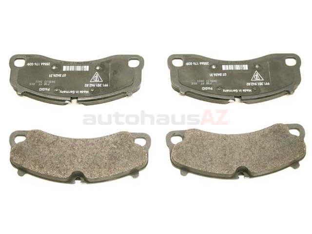 99135194783 Genuine Porsche Brake Pad Set; Front