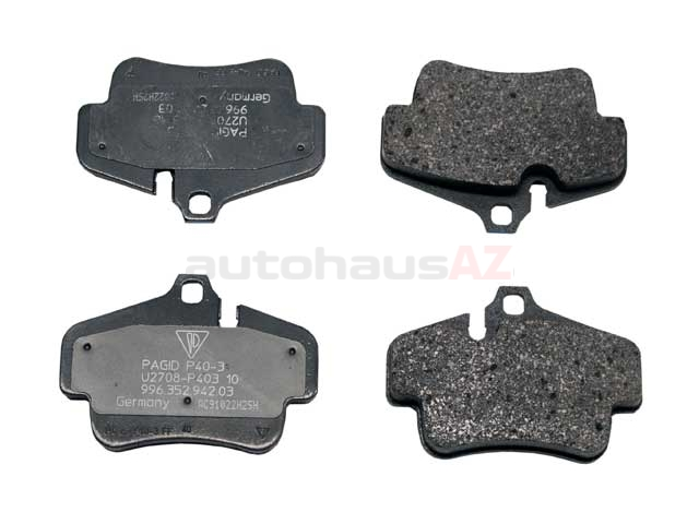 PO-99635294703 Genuine Porsche Brake Pad Set