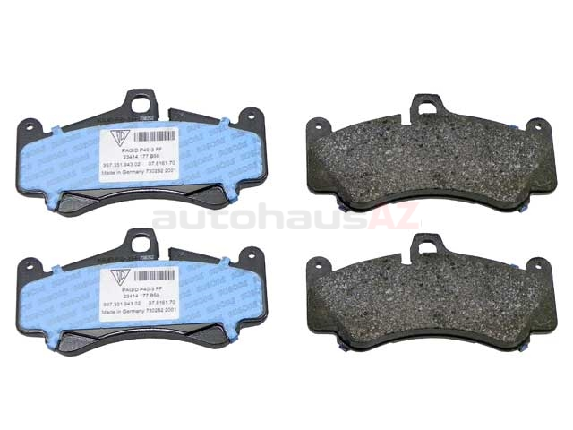 PO-99735194802 Genuine Porsche Brake Pad Set