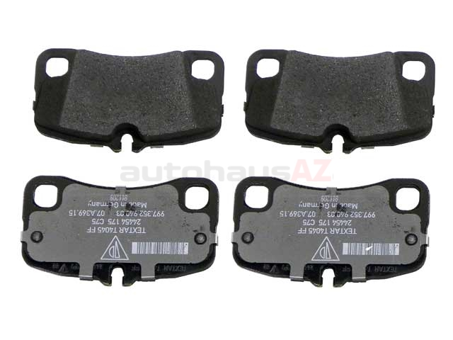 PO-99735294903 Genuine Porsche Brake Pad Set
