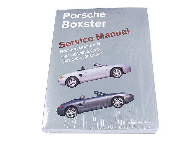 PR8003004 Robert Bentley Repair Manual - Book Version; 1997-2004 Boxster, Boxster S; OE Factory Authorized