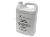 Q1030004 Genuine Mercedes Antifreeze/Coolant; Antifreeze; Blue, 1 Gallon