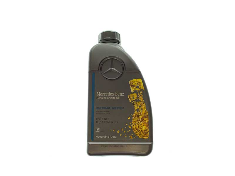 Q1090162 Genuine Mercedes Engine Oil; Mobil 1 Formula M, 5W40