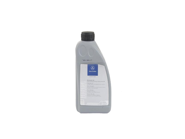 Q1320001 Genuine Mercedes Power Steering Fluid; Synthetic; 1 Liter Bottle
