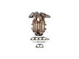 674-836 Dorman Exhaust Manifold with Integrated Catalytic Converter; Exhaust Manifold Kit