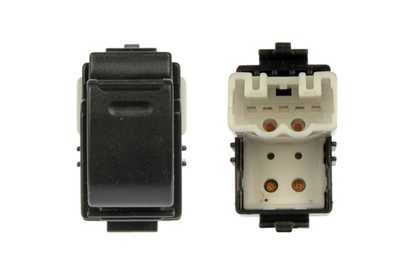 901-701 Dorman Power Window Switch; Power Window Switch - Front Right & Rear, 1 Button