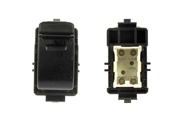 901-704 Dorman Power Window Switch; Power Window Switch - Front Right & Rear, 1 Button
