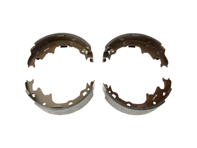 S11509N Brembo Brake Shoe Set; Rear
