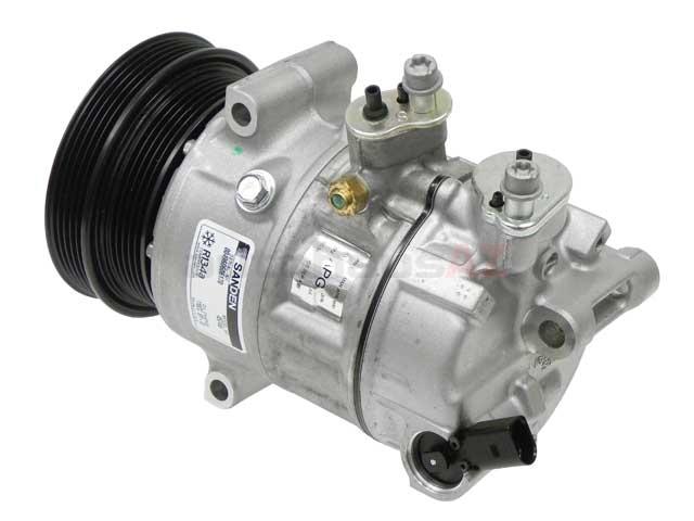 Sanden 1K0820808G, 2008688 AC Compressor - Audi, VW | C140356