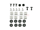 211330002 AFT Engine Splash Shield Hardware; Protection Pan Hardware Kit