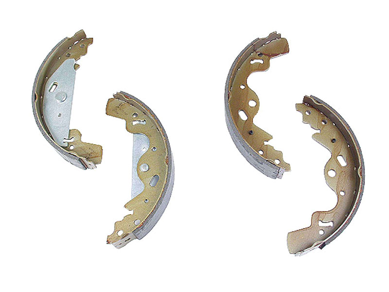 SFS000030 Mintex Brake Shoe Set; Rear