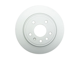 SP10274 ATE Coated Disc Brake Rotor; Rear