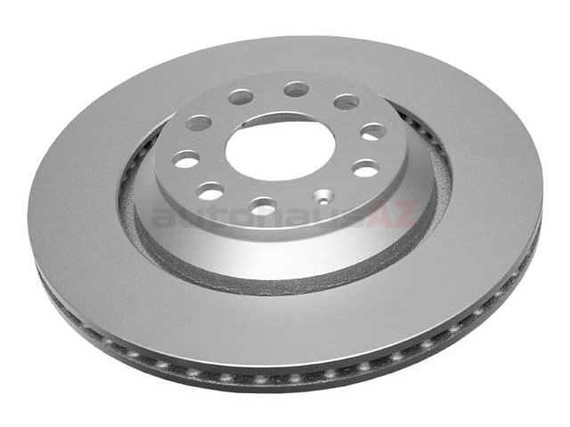SP22219 ATE Coated Disc Brake Rotor; Rear; Vented 310mm Diameter