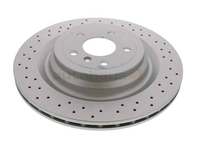 SP22297 ATE Coated Disc Brake Rotor; Rear