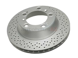 SP24176 ATE Coated Disc Brake Rotor; Rear