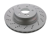 SP26136 ATE Coated Disc Brake Rotor