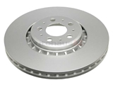 SP30116 ATE Coated Disc Brake Rotor; Front