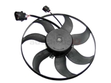 1K0959455FR VDO A/C Condenser Fan; Left