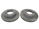 98735240301 Sebro Slotted & Coated Disc Brake Rotor